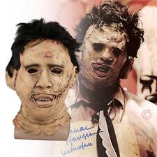 Cosplay Chainsaw Massacre Creepy Latex Mask Halloween Masquerade Costume Props