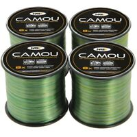 Camo Fishing Line Bulk Spool 10lb 12lb 15lb 18lb Carp Pike Coarse NGT Camou