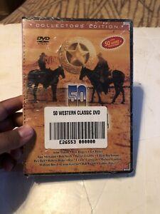 50 Western Classics (4-DVD Set) New