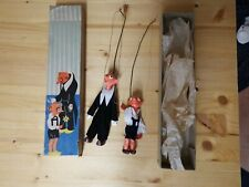 2x Marionetten Tschechien Spebl Hurvinek, Original Karton, TOP RAR