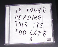 Drake If You´re Reading ceci It´s Trop Tard CD plus vite expédition