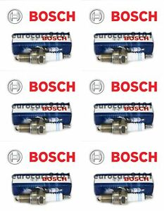 Porsche 911 Bosch Spark Plugs 7992 7992 Set of 6