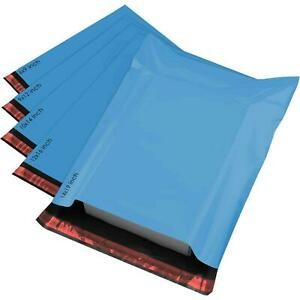 50 MIXED SIZES Color Envelopes Self Seal Postage Poly Postal Mailing Bags Sacks