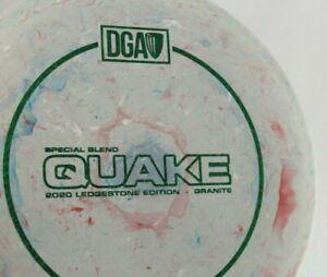 NEW - DGA QUAKE Ledgestone 2020 SE Stamp Jawbreaker Disc Golf Midrange 175