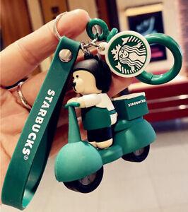 Starbucks Bear Delivery Keychain 100% New