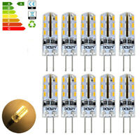 10x 3W 12V Warm White 3000K G4 Base LED Corn Bulb Pen Socket G4 LED Bulbs