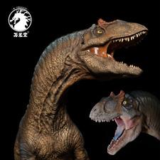 W-Dragon 1/35 Allosaurus Statue Dinosaur Model Collector Animal Toys Pool Base
