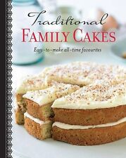 Making Cakes, Traditional Family Cakes- Love Food,Parragon Books,Love Food Edit