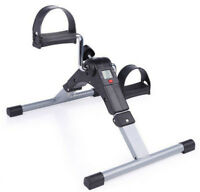 Foldable Pedal Fitness Exerciser Cycle Leg/Arm LCD Display Home Gym Pedal Bikes