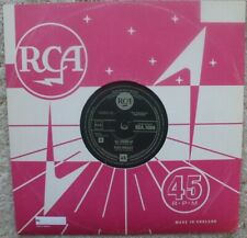 """Elvis Presley - All Shook Up / That's When Your Heartaches 10"""" UNnumbered Vinyl"""
