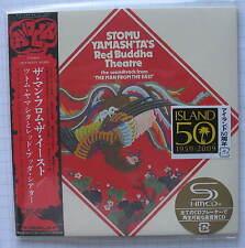 STOMU YAMASHTA - Red Buddha Theatre JAPAN SHM MINI LP CD OBI NEU UICY-94103