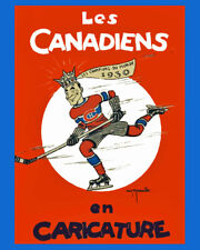 Montreal Canadiens Wall Art Poster - 1931 Program Game Cover  - 8x10 Photo