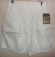 NWT WOMENS WOOLRICH WHITE CASUAL SHORTS   SIZE 8