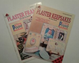 Plaster Keepsakes & Plaster Frames Crafts Plaid # 9263 & 9290