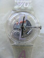 SWATCH GK236 - 100% PLASTIC / AG1996 - NEW WITH BOX AND PAPERS