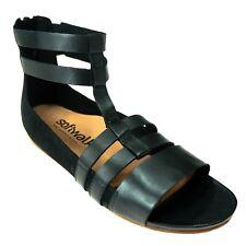 Softwalk Comfort Sandal Size 5 M Womens Cazadero Black Leather BOHO Gladiator