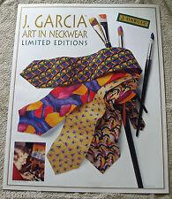 "Jerry Garcia 1996 Art In Neckwear 22"" x 28"" Limited Edition Poster Grateful Dead"