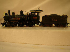 Bachmann 4-4-0 Logging Steam Locomotive- DCC and sound onboard -custom weathered