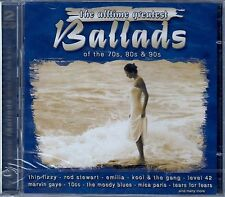 The ALLTIME Greatest Ballads of the 70s, 80s & 90s/2 CD-SET-NUOVO