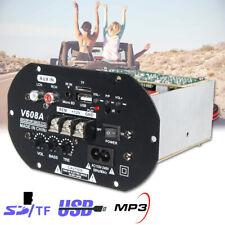 80W High Power Bass Car Hi-Fi Amplifier Board Subwoofer TF USB 12V/110V-220V