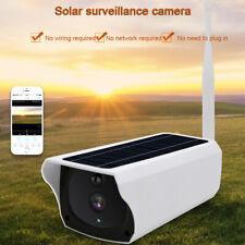 Outdoor SolarPower IP Camera Wireless Wifi Surveillance Camera Night Vision1080P
