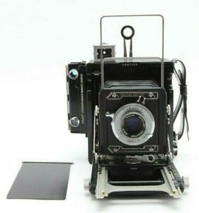 Excellent Graphic 2x3 Century Large Format Camera With 105mm f4.5 Lens #31853