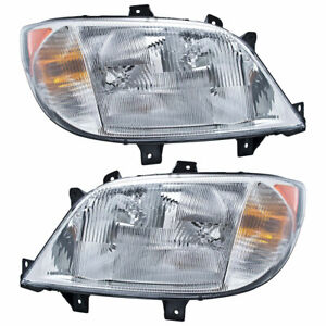 Pair OEM Hella Headlights For Dodge Sprinter 2500 Freightliner Sprinter 2500