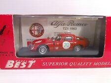 BEST 1/43 ALFA ROMEO TZ 1 TARGA FLORIO 66 #70 cod 9062