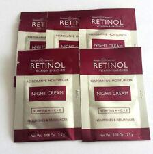 Retinol Creme Vitamin A Nachtcreme Skincare LdeL Cosmetics Proben 5 x 2,4 ml
