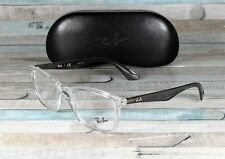 RAY BAN RX7047 5768 Transparent Demo Lens 56 mm Men's Eyeglasses