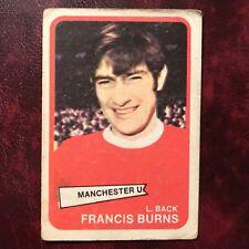 1968/69 A&BC Footballer Set FRANCES BURNS #2 MANCHESTER UNITED - VG-