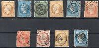 Briefmarken Frankreich altes Lot, gestempelt