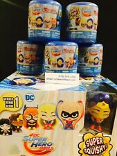 (5X)DC SUPER HERO GIRLS-fashems mashems-one hero  per capsule *Premier Edition*