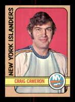 1972-73 Topps #22 Craig Cameron NM/NM+ RC Rookie NY Islanders 501076