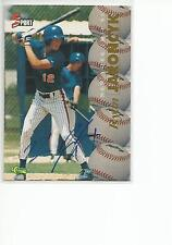 RYAN JARONCYK CERTIFIED Auto 1995 Classic 5 Sport card New York Mets
