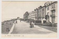 Kent postcard - Hythe - The Promenade - LL no. 3