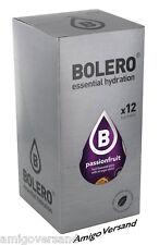 Bolero Drinks-Passionfruit (Passion Fruit 12 Pouches for 18-36 Litre