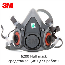3M 6200 Facepiece Gas Dust Msk Painting Spraying Chemical Low-Maintenance Respi