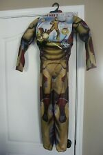Disguise Marvel Iron Man 3 - Muscle Costume Kids M (7-8) - Nib