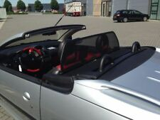 Frangivento PEUGEOT 206 CC 2000 2006 Nero Beige in carbonio