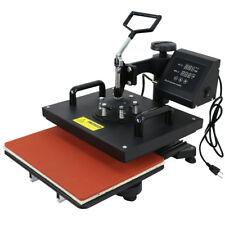 6 IN 1 COMBO HEAT PRESS T-SHIRT HAT CAP MUG DIGITAL TRANSFER SUBLIMATION MACHINE