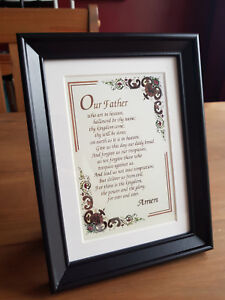 The Lords Prayer - Framed