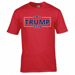 Donald Trump 2024 USA Election America  Men Women Unisex T Shirt T-shirt 6173