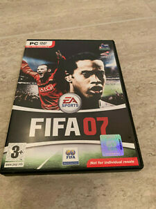 FIFA 07, PC DVD-Rom - only DVD compatible - ex cond inc manual Pegi 3+ EA sports