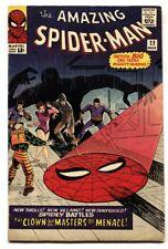 Amazing Spider-Man #22 1965-1st PRINCESS PYTHON- FN-