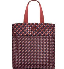 NWT Authentic TORY BURCH Nylon Packable Tote in Tuscan Wine Geo