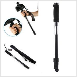 "Extendable 70"" Walking Stick & DSLR For Nikon Canon Camera MonoPod - Backpacking"