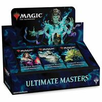 Magic MTG Ultimate Masters Booster Box Factory Sealed UMA English WITH TOPPER