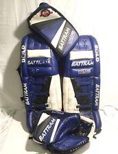"Battram Bold Custom Senior Goalie Pads 34"" Glove and Blocker Set Air Core"