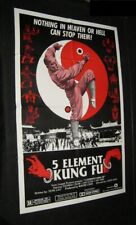 Original Adventures Of Shaolin 5 Elements Of Kung Fu Story of Chang Zhang Fong